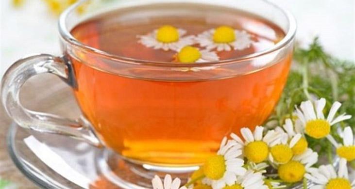 tea/ دمنوش بابونه برای کاهش انواع درد