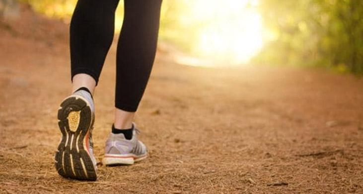 walking/ پیاده روی برای کاهش انواع درد