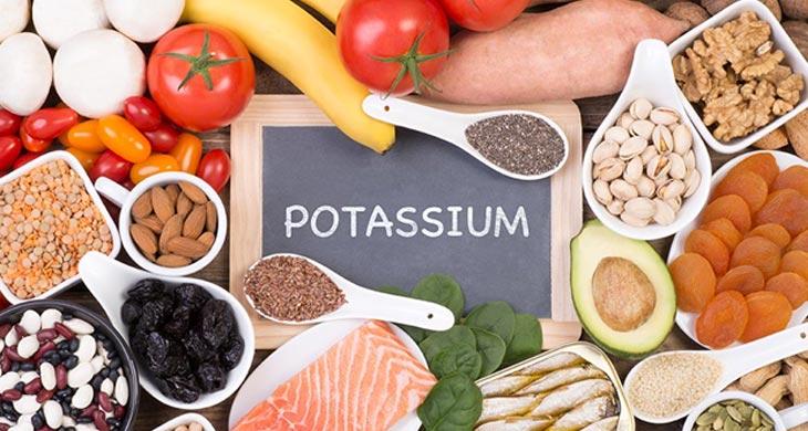 potasium/پتاسیم برای درمان شکستگی استخوان